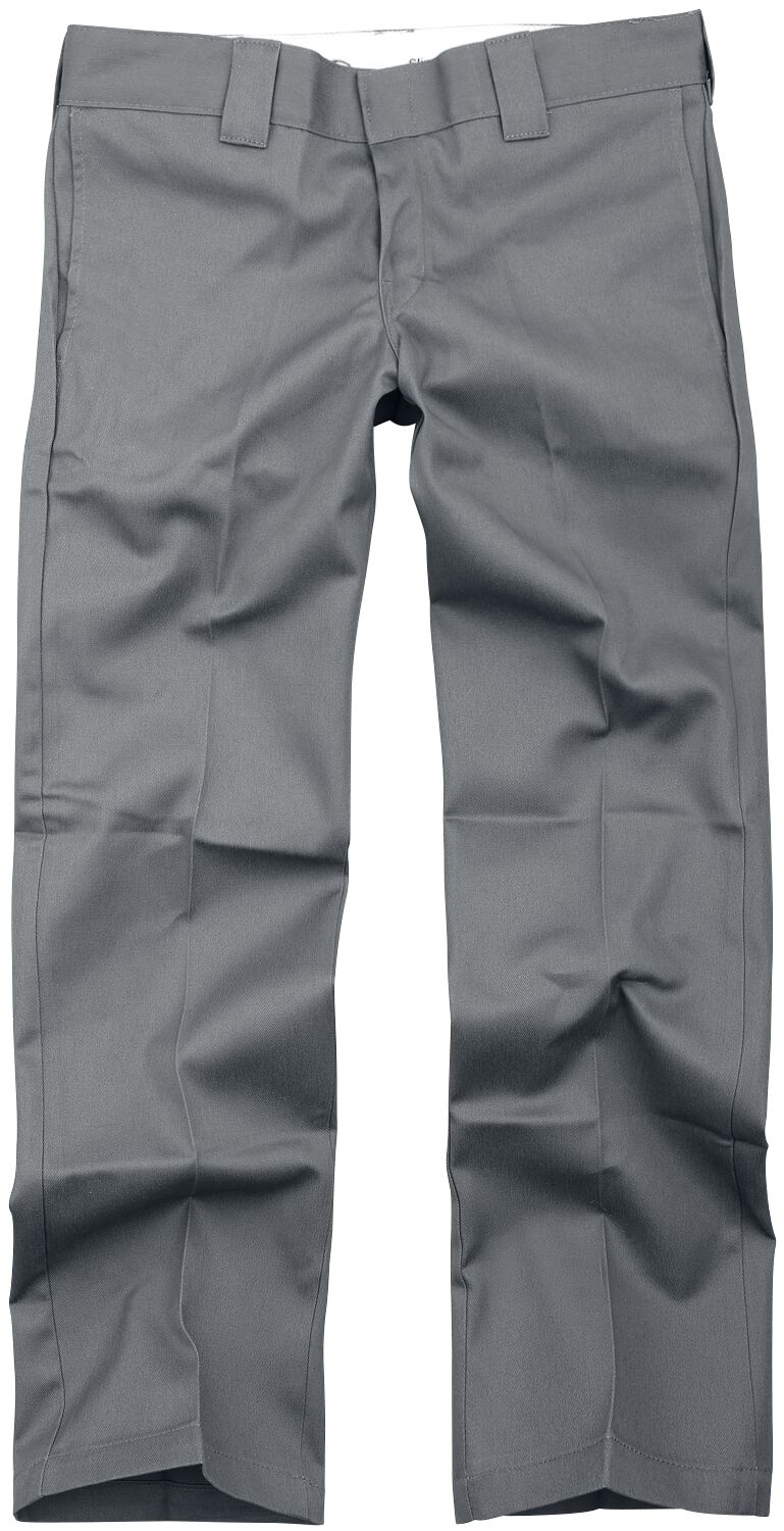 Image of Dickies 873 Slim Straight Work Pant Chinopant charcoal