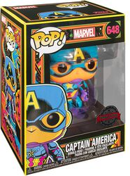 Black Light - Captain America Vinyl Figur 648