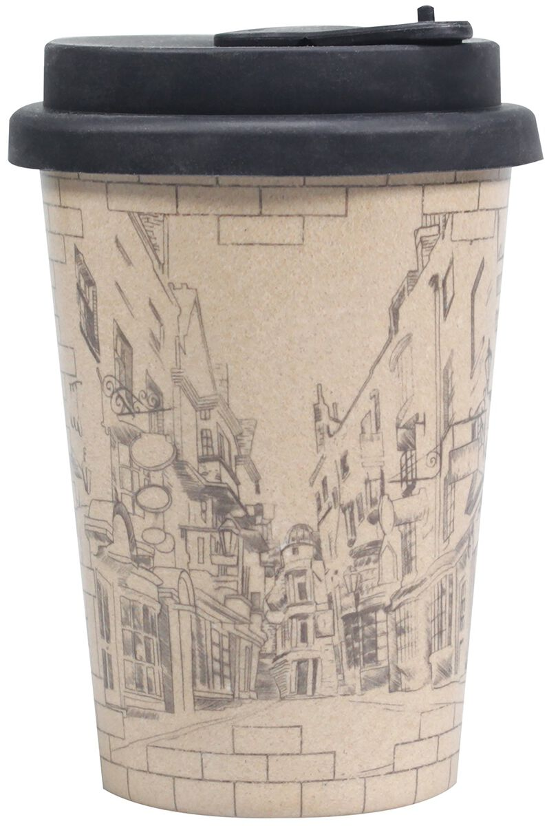 Harry Potter Diagon Alley - Huskup Kaffee-Becher Becher beige HUSKHP09