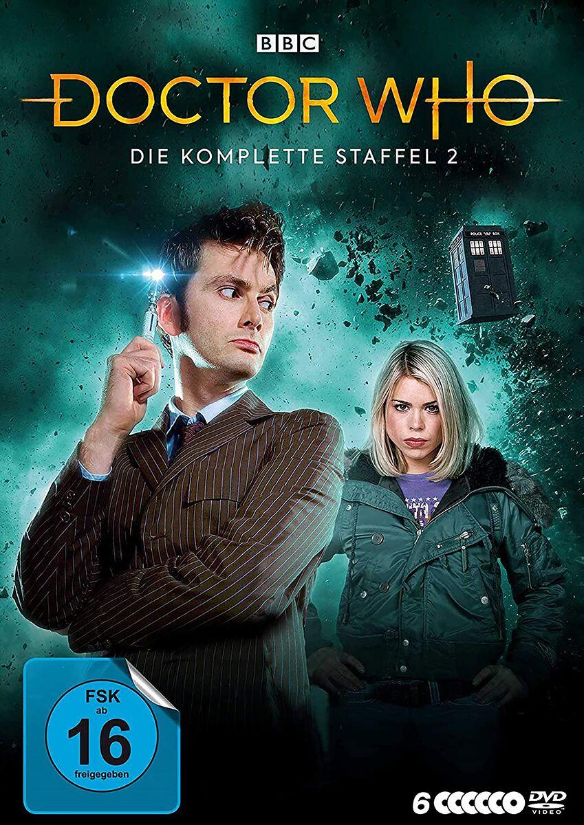 Image of Doctor Who Die komplette Staffel 2 6-DVD Standard