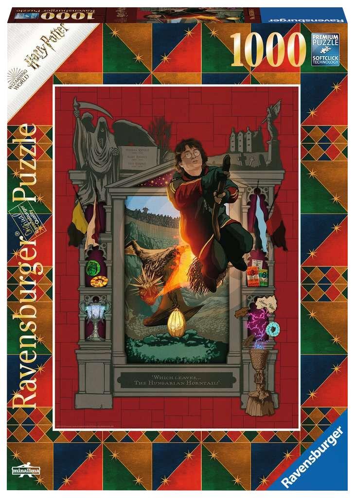 Harry Potter  Und das Trimagische Turnier  Puzzle  multicolor