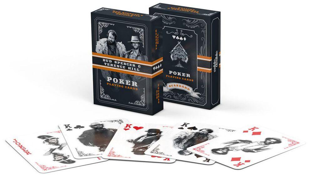 Bud Spencer & Terence Hill  Poker Spielkarten  Kartenspiel  Standard