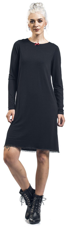 Kleider - Vive Maria Maria's Vintage Dress Mittellanges Kleid schwarz  - Onlineshop EMP