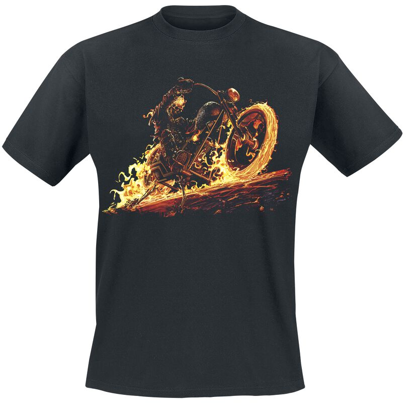 Ghostrider Flaming Bike
