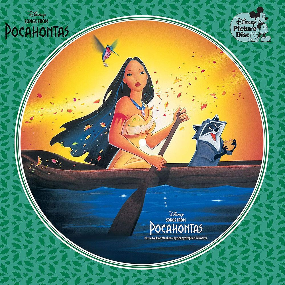 Pocahontas Songs from Pocahontas LP Picture 8746162