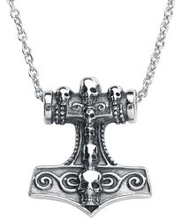 Thor´s Skull Hammer Necklace