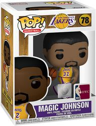 LA Lakers - Magic Johnson Vinyl Figur 78