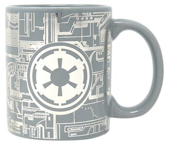 Death Star Surface - Foil Mug