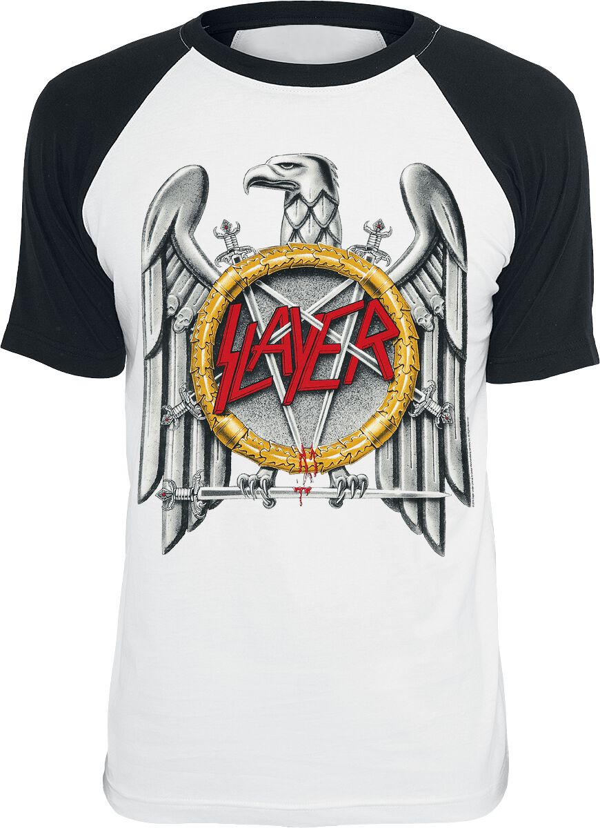 Slayer Eagle T-Shirt white black