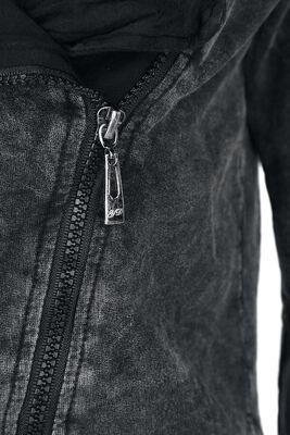 Asymetric Vintage Zipper