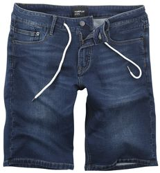 5 Poket front Knotted Sweat Denim Short