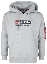Alpha Block-Logo Hoody