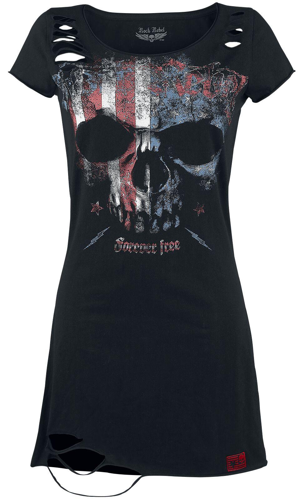 Kleider für Frauen - Rock Rebel by EMP Living Legend Kleid schwarz  - Onlineshop EMP