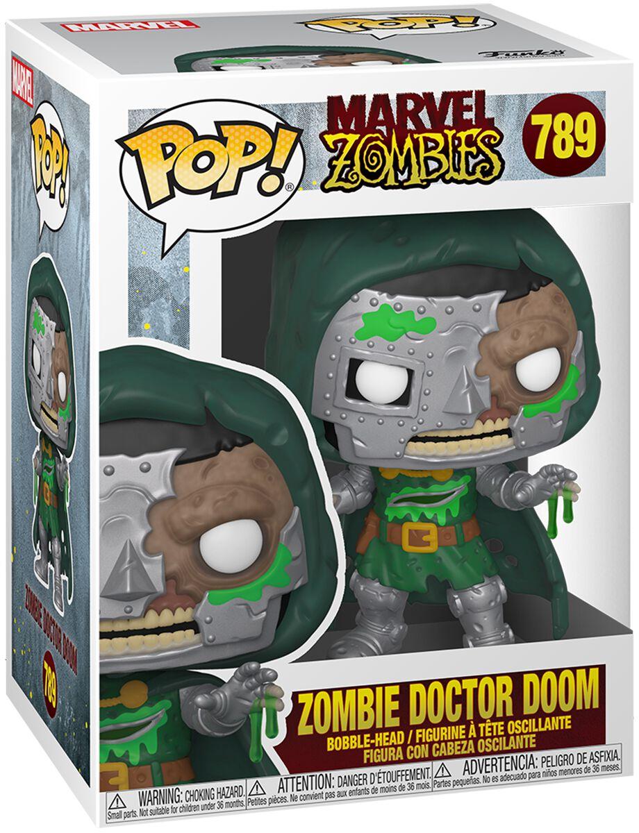 Marvel Zombies - Zombie Dr. Doom Vinyl Figur 789 Funko Pop! multicolor 54384