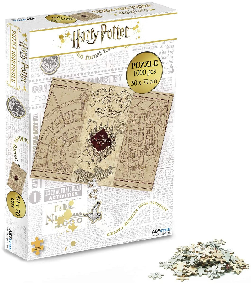 Harry Potter Marauder´s Map Puzzle Puzzle multicolor ABYJDP002