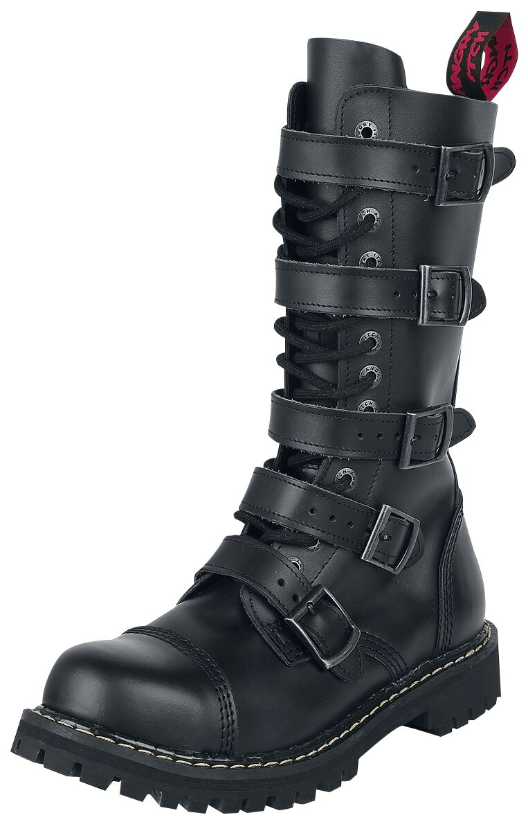 Image of Angry Itch 14 Hole - 5 Buckles Stiefel schwarz