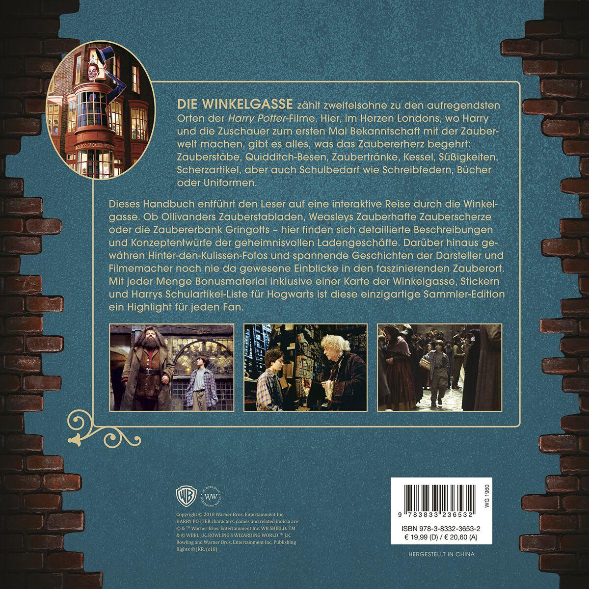Die Winkelgasse Das Handbuch Zu Den Filmen Harry Potter Sachbuch