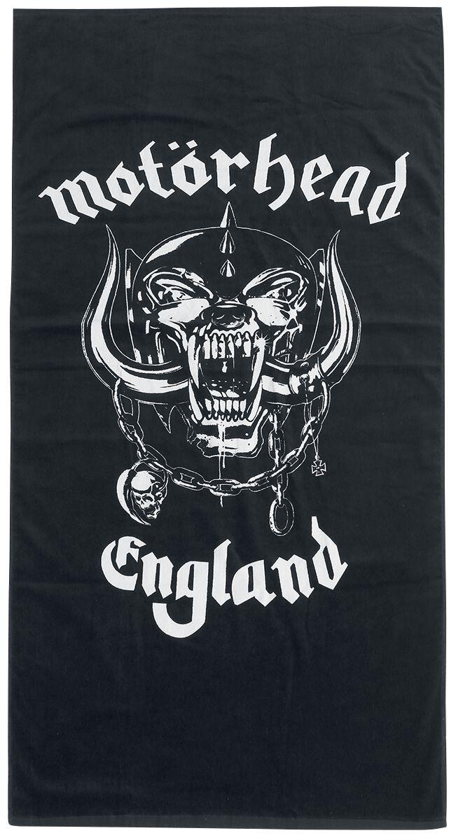 Image of Motörhead Motörhead Logo Badetuch schwarz