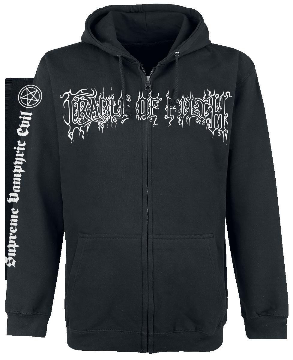 Cradle Of Filth - The Principle Of Evil Made Flesh - Hooded zip - black image