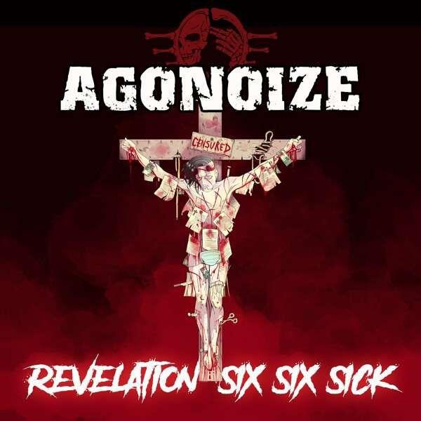 Image of Agonoize Revelation six six sick 2-CD Standard