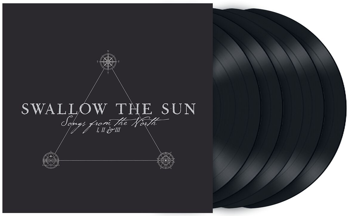 Image of Swallow The Sun Songs from the north I, II & III 5-LP Standard