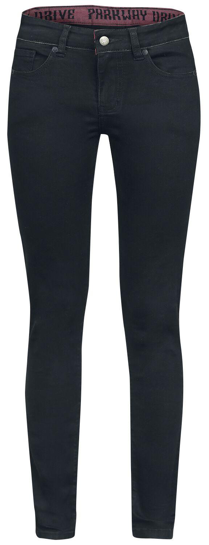 Hosen für Frauen - Parkway Drive EMP Signature Collection Girl Hose schwarz  - Onlineshop EMP