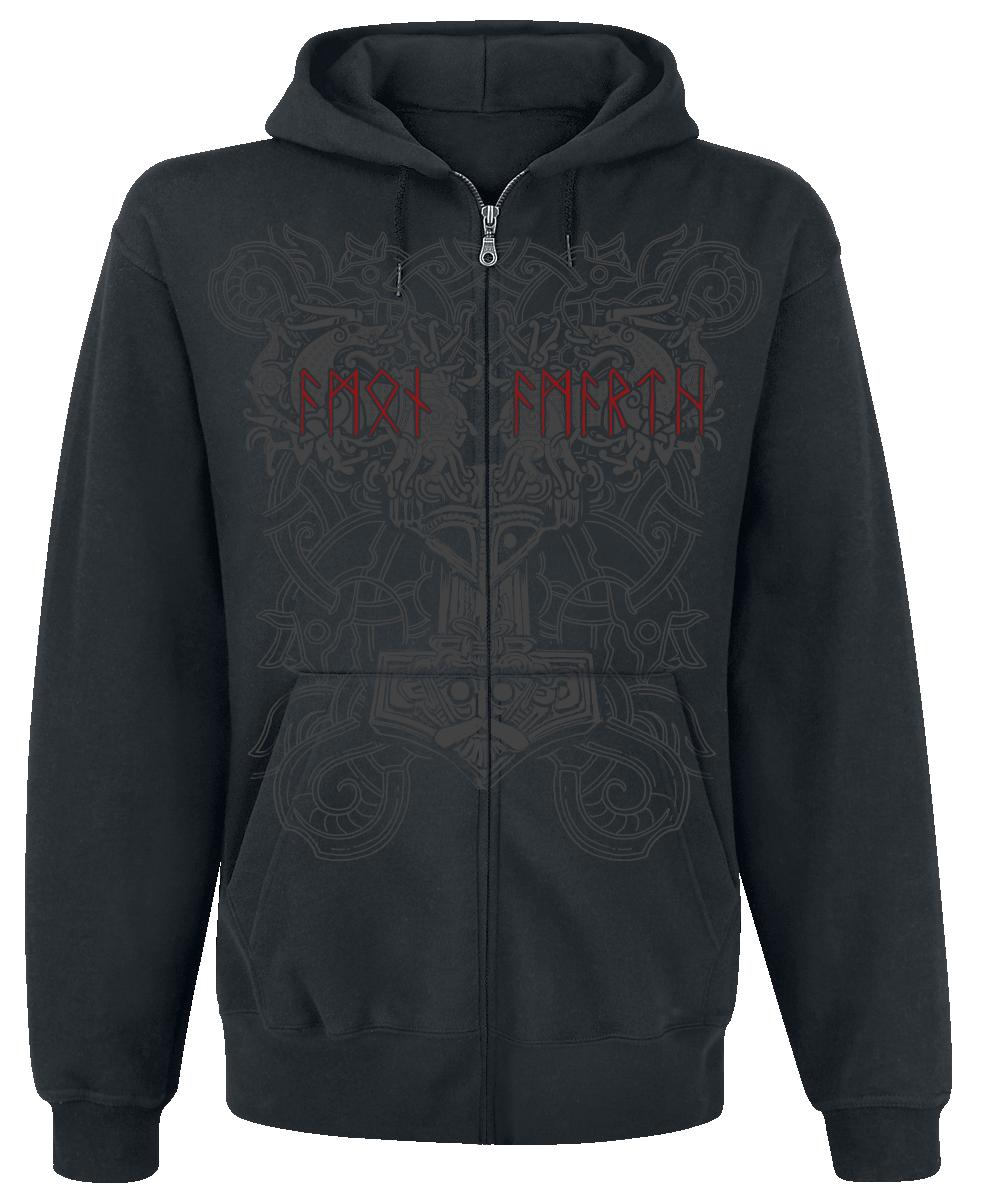 Amon Amarth - Viking Horde - Hooded zip - black image
