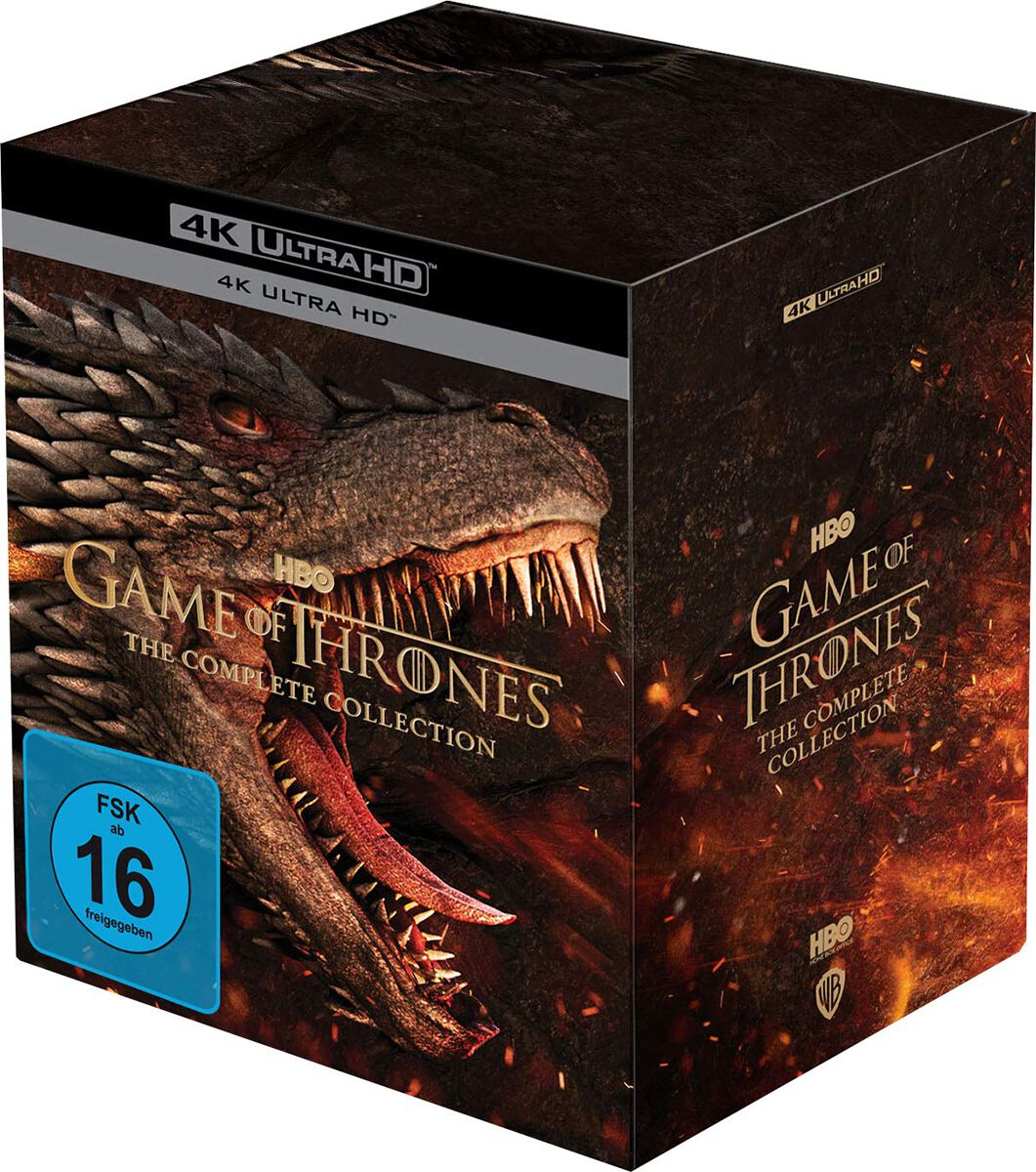 Image of Game Of Thrones The complete collection 33-Blu-ray Standard