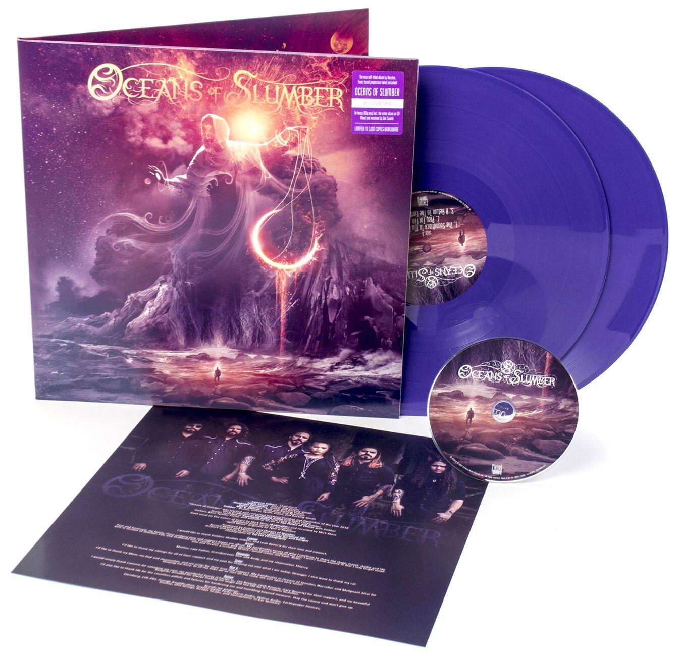 Oceans Of Slumber Oceans of slumber LP lila 194398373713