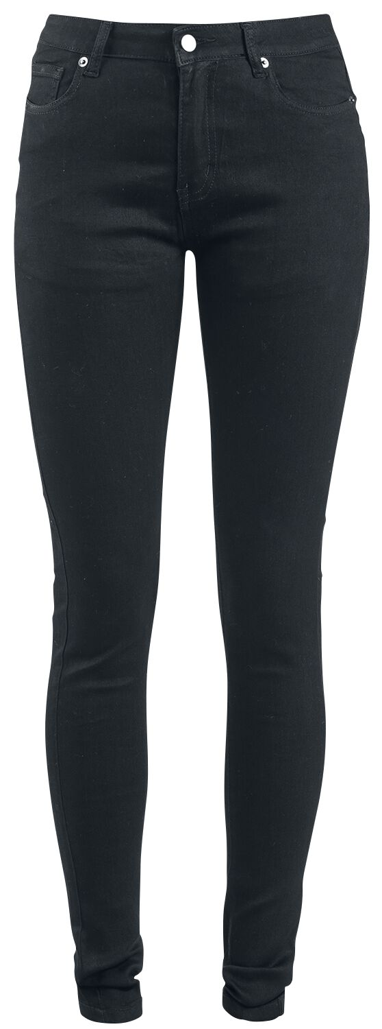 Hosen - Forplay Super Stretch Skinny Jeans schwarz  - Onlineshop EMP