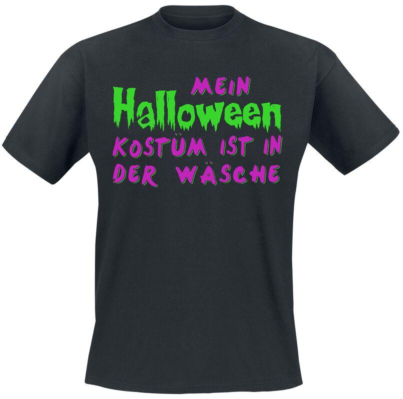 Mein Halloween Kostüm ist in der Wäsche