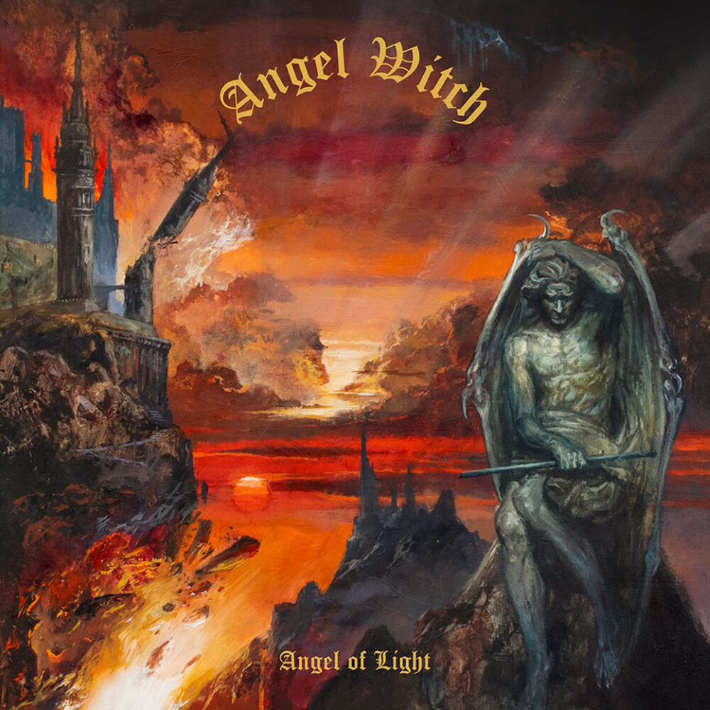 Image of Angel Witch Angel of light CD Standard