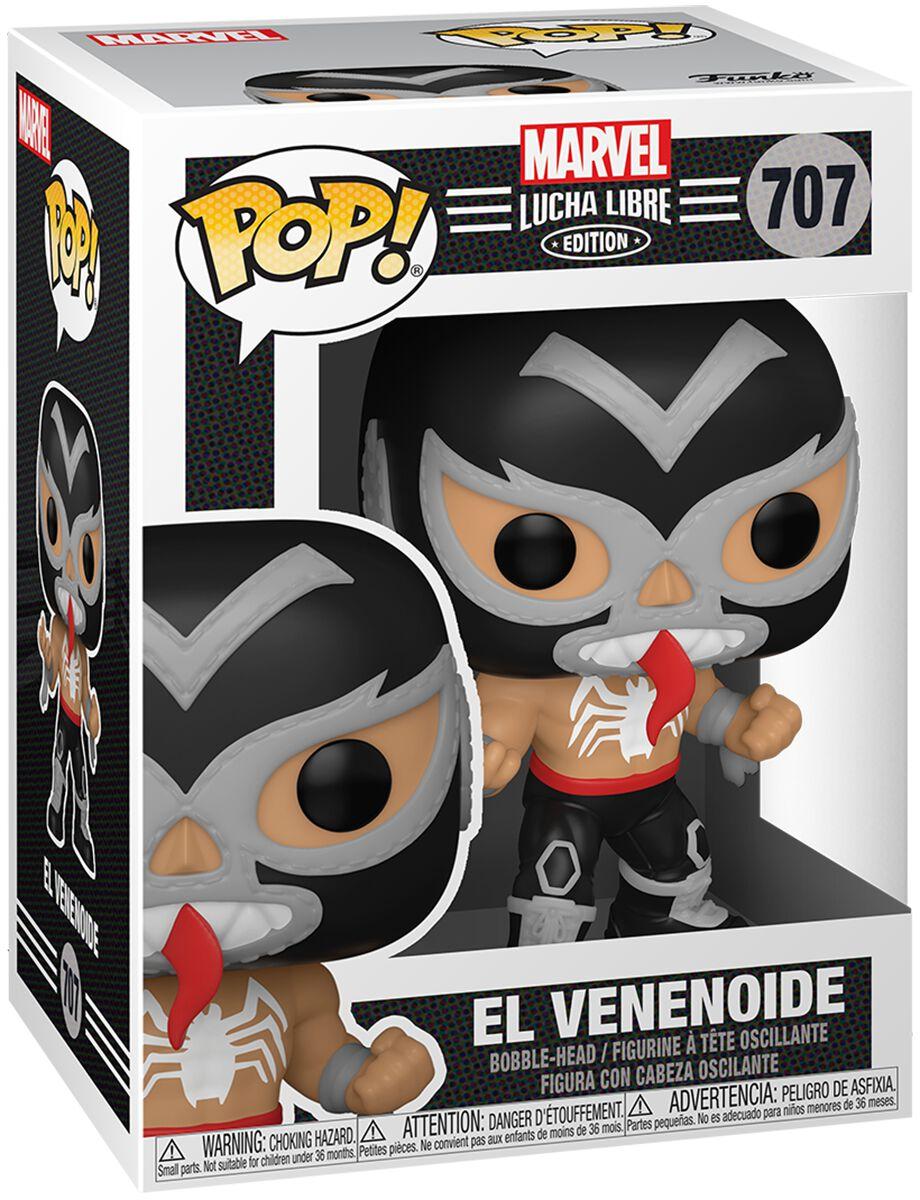 Venom (Marvel) El Venenoide - Marvel Luchadores - Vinyl Figur 707 Funko Pop! multicolor 53869
