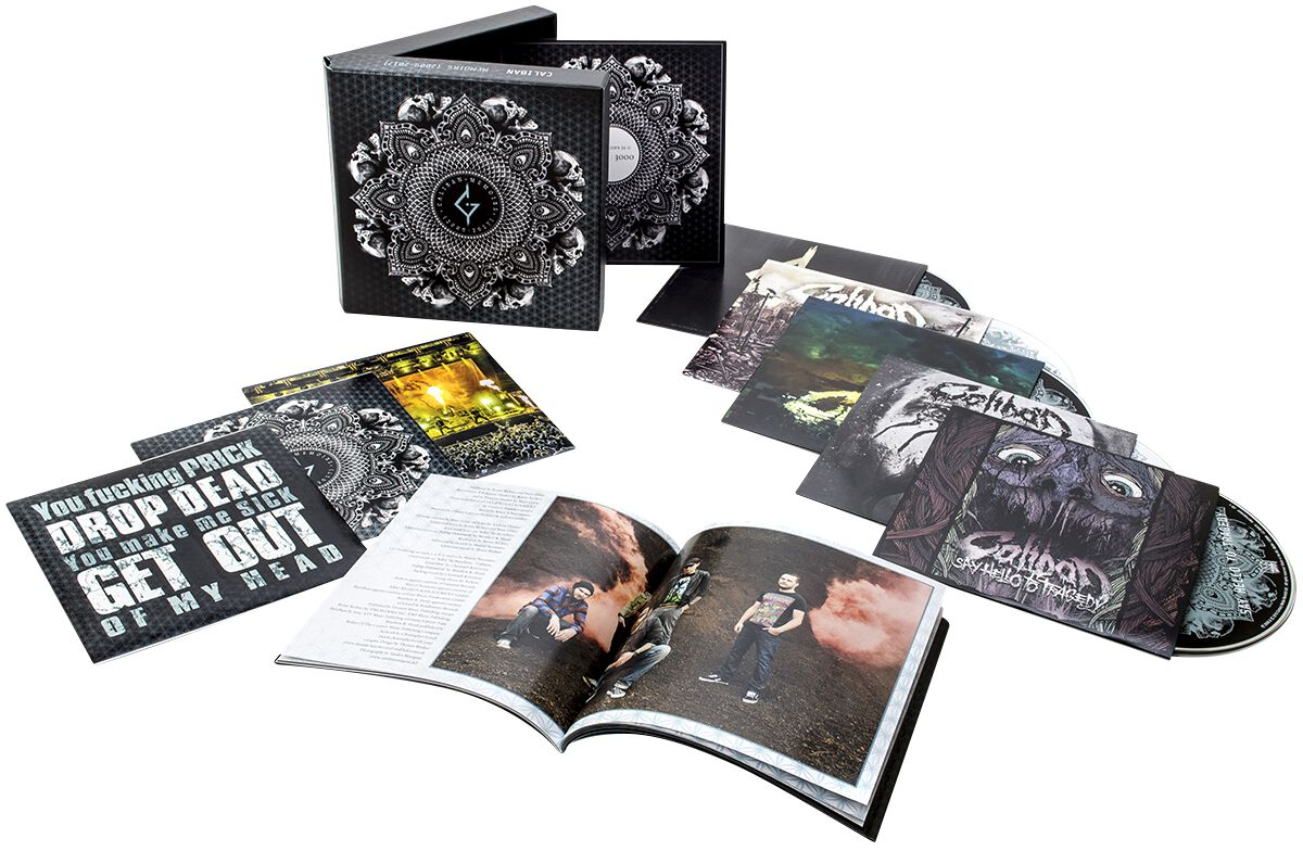 Image of Caliban Memoirs (2009-2017) 5-CD Standard