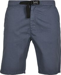 Straight Leg Chino Shorts with Belt