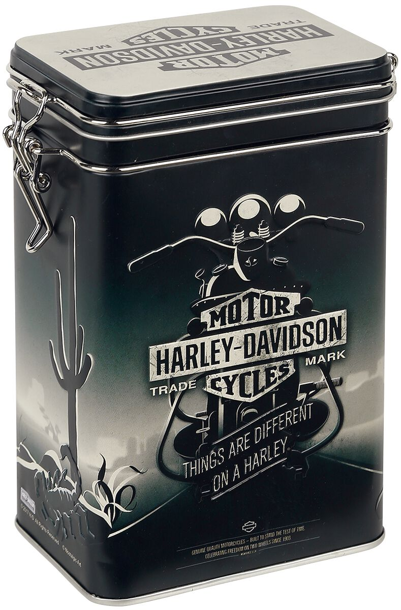 Image of Harley-Davidson Things Are Different - Aromadose Aufbewahrungskiste Standard