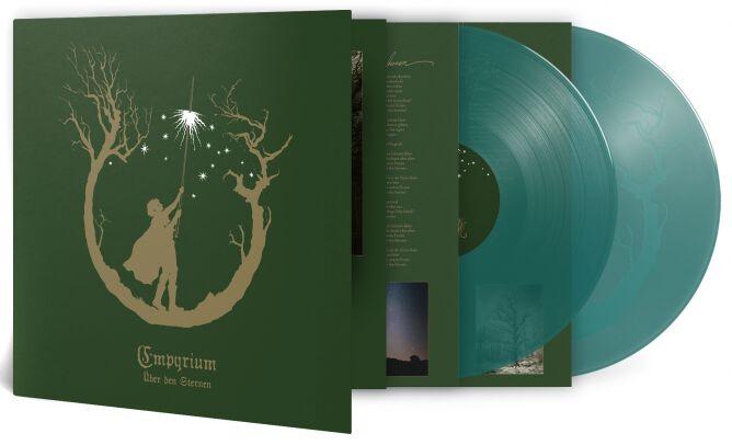 Empyrium Über den Sternen LP grün PRO 304 LPGT