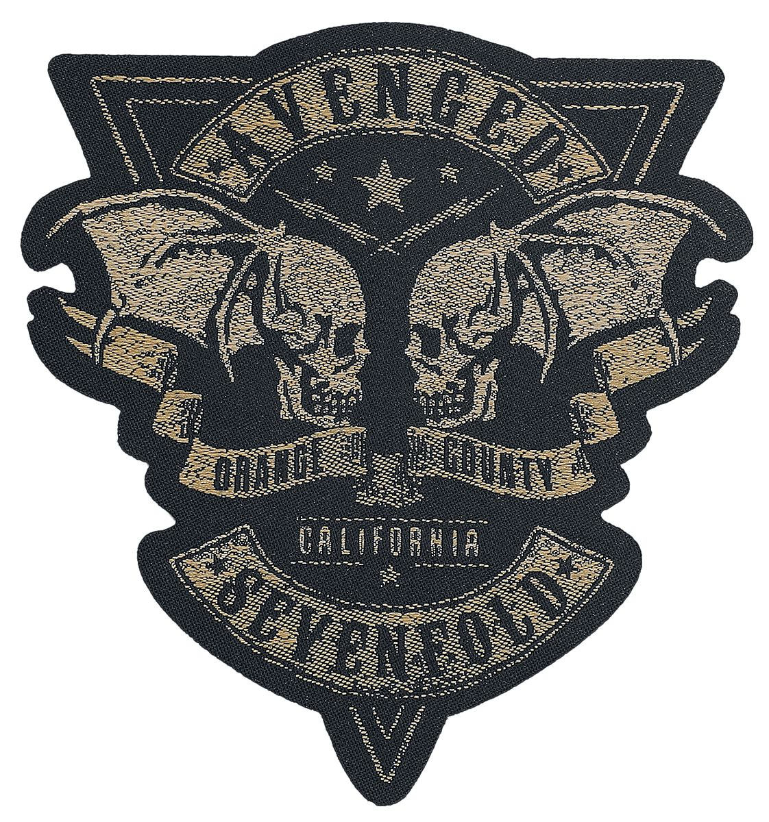 Image of Avenged Sevenfold Orange County Cut-Out Patch Mehrfarbig