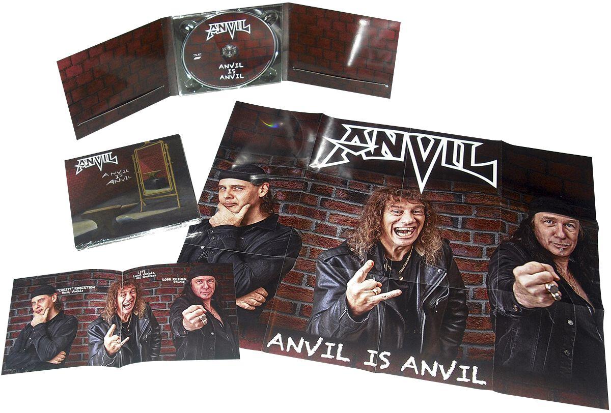 Image of Anvil Anvil is Anvil CD Standard