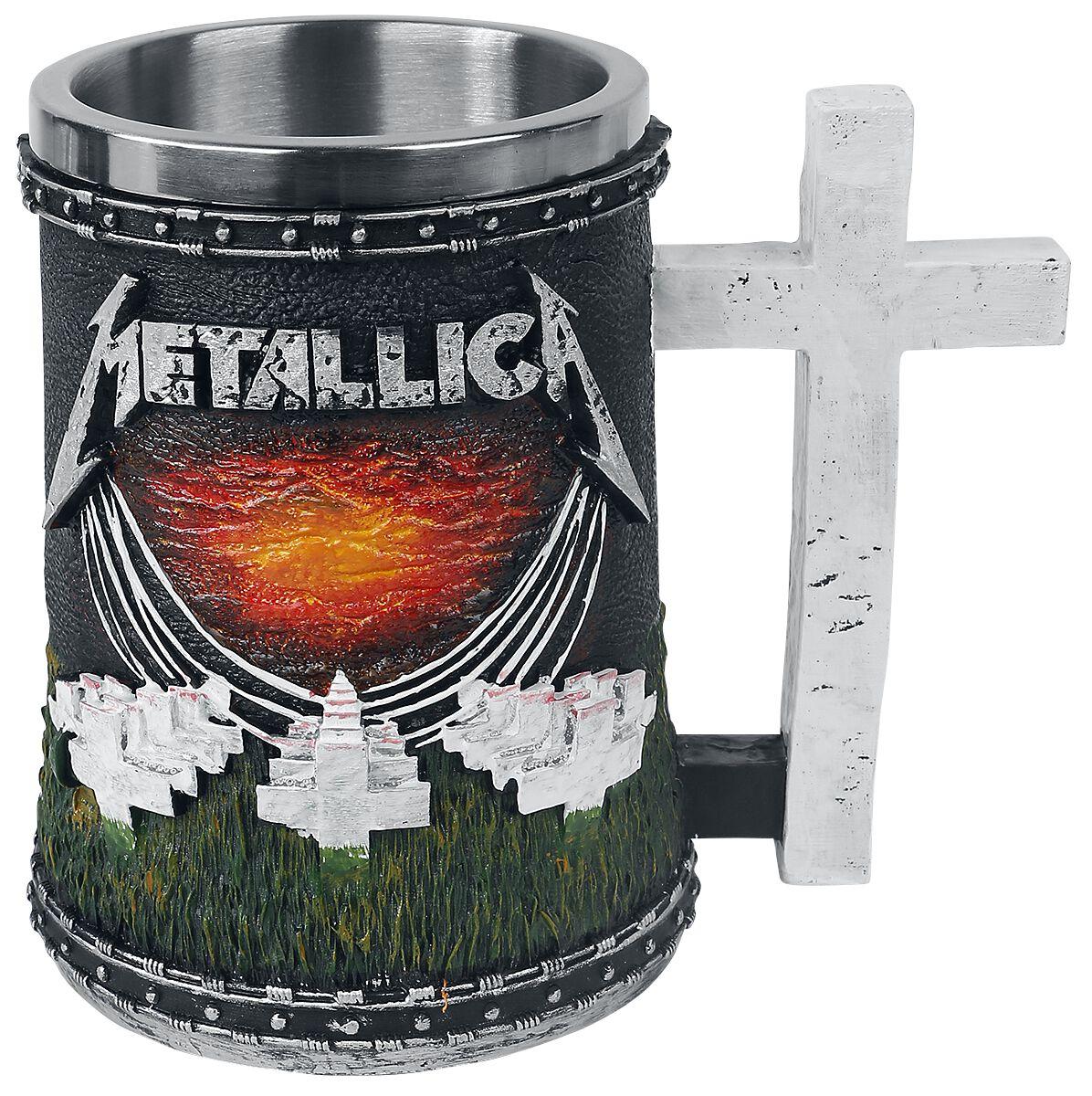 Metallica Master Of Puppets Bierkrug multicolor B4706N9