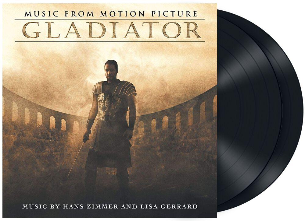 Gladiator Gladiator (Music by Hans Zimmer & Lisa Gerrard) LP schwarz 4832128