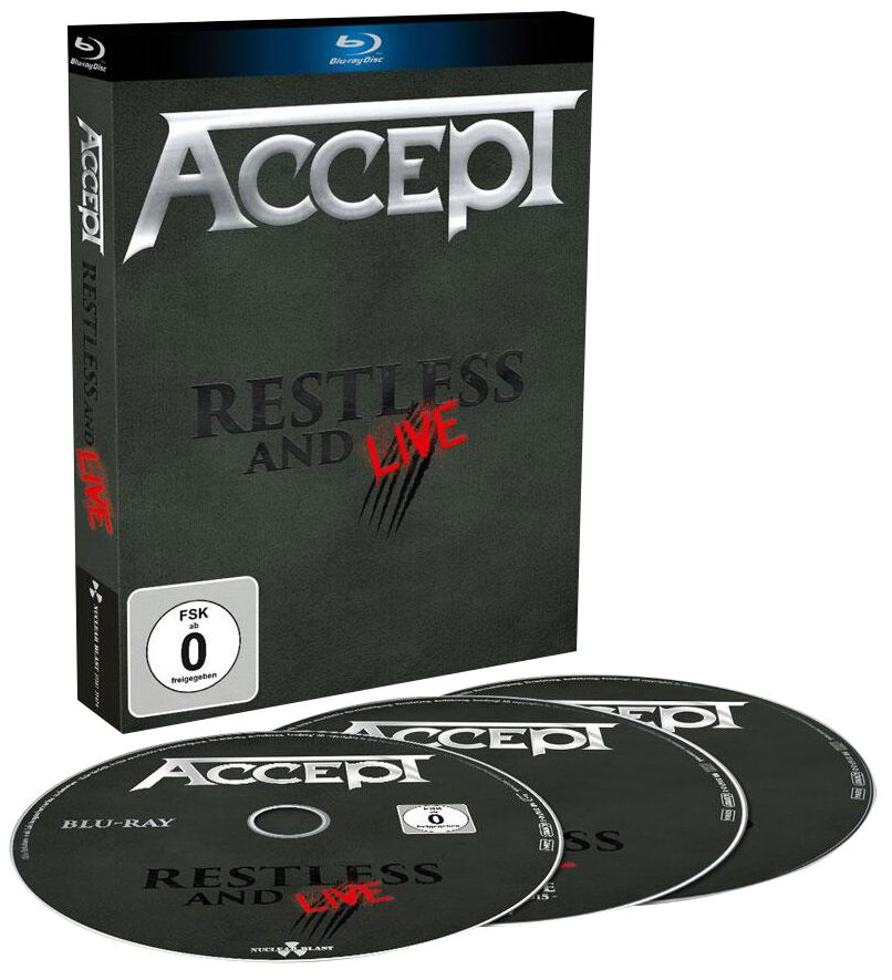 Image of Accept Restless and live Blu-ray & 2-CD Standard