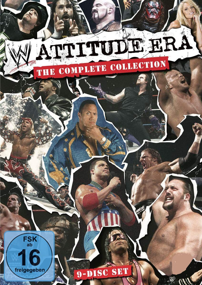 Image of WWE WWE: Attitude Era - The complete Collection 9-DVD Standard