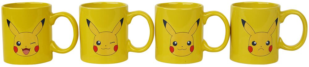 Pikachu Espresso Tassen Set
