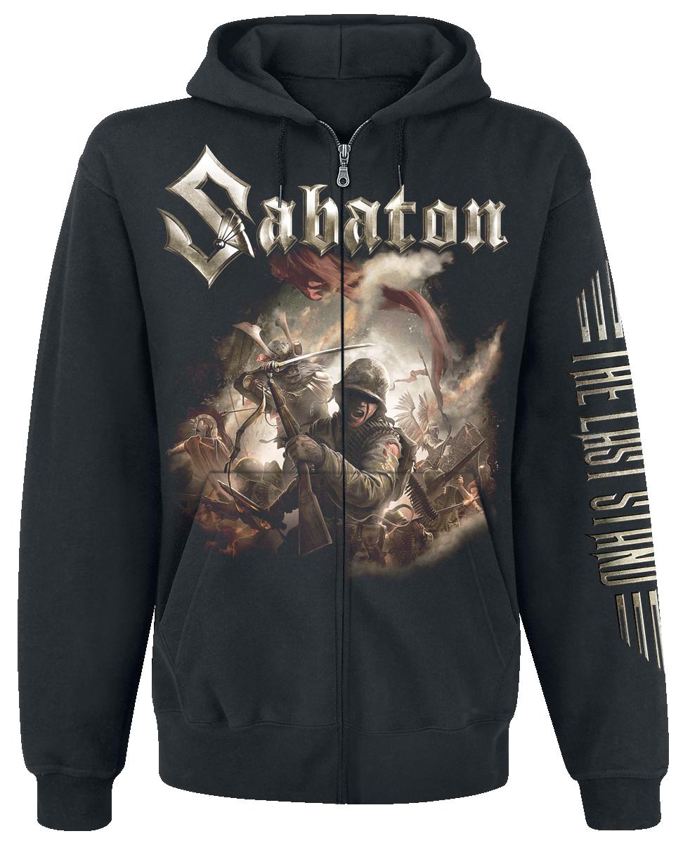 Sabaton - The Last Stand - Hooded zip - black image