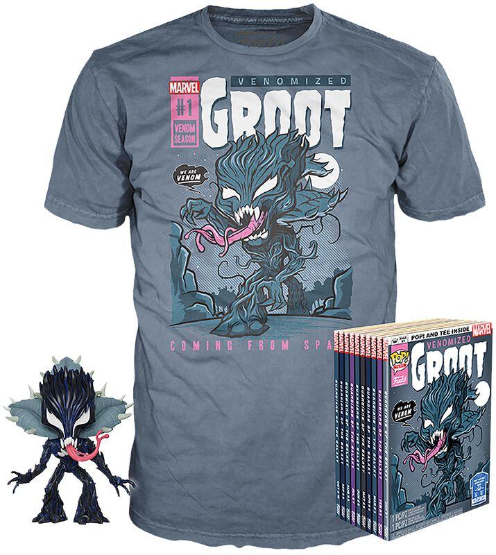 Venomized Groot - POP! & Tee
