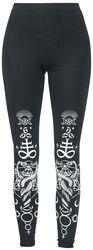 Viper Black Leggings