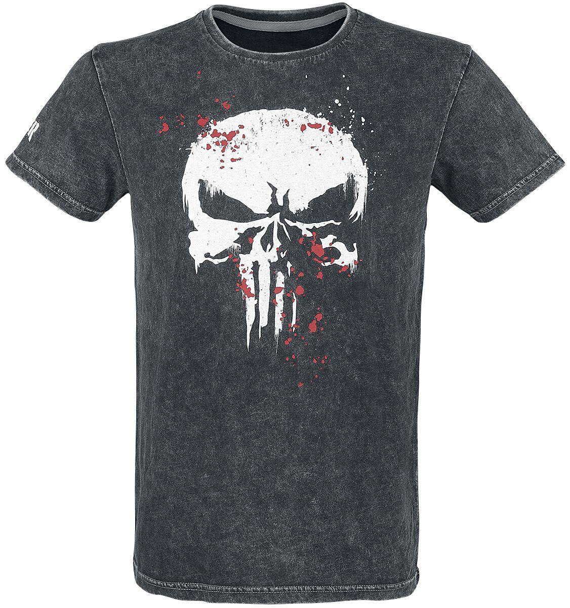 The Punisher Punisher T-Shirt schwarz . M371704