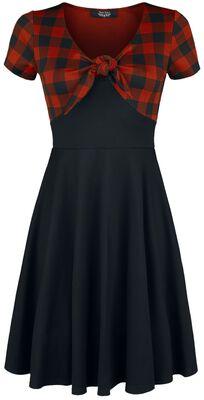 Schluppen-Kleid mit Karomuster Rock Rebel