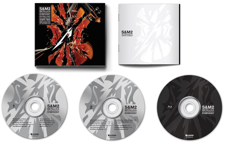 Image of Metallica S & M 2 (Symphony Metallica) Blu-ray & 2-CD Standard